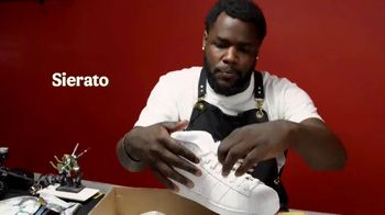 Burger King TV Spot, 'Artificial Colors: Custom Sneakers' Featuring Sierato