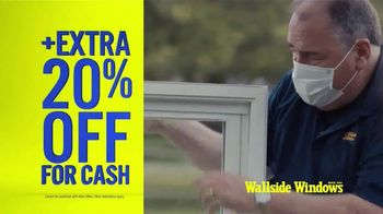 Wallside Windows TV Spot, 'Limited Time: Buy One, Get One Free' - Thumbnail 3