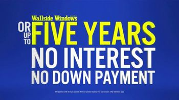 Wallside Windows TV Spot, 'Limited Time: Buy One, Get One Free' - Thumbnail 4