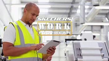 SKECHERS WORK Footwear Max Cushioning TV Spot, 'Demanding Job'