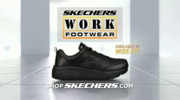SKECHERS WORK Footwear Max Cushioning TV Spot, 'Demanding Job' - Thumbnail 10