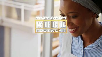 SKECHERS WORK Footwear Max Cushioning TV Spot, 'Demanding Job'