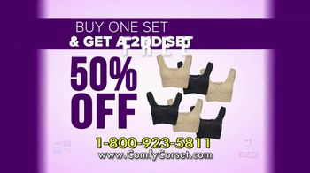 Comfy Corset TV Spot, 'A Bra That Does It All: 50 Percent off Second Set' Featuring Taylor Baldwin - Thumbnail 10
