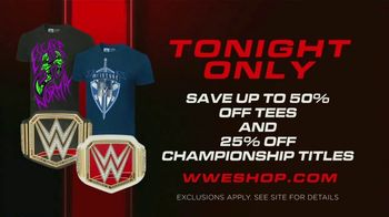 WWE Shop TV Spot, 'Energize: Up To 50 Percent Off Tees and 25 Percent Off Championship Titles' Song by Easy McCoy - Thumbnail 5