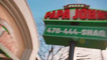 Papa John's Shaq-a-Roni TV Spot, 'Pizza Time' Featuring Shaquille O'Neal, Song by Nappy Roots - Thumbnail 1