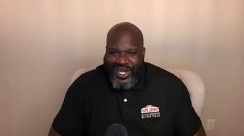 Papa John's Shaq-a-Roni TV Spot, 'Pizza Time' Featuring Shaquille O'Neal, Song by Nappy Roots - Thumbnail 5