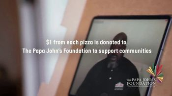 Papa John's Shaq-a-Roni TV Spot, 'Pizza Time' Featuring Shaquille O'Neal, Song by Nappy Roots - Thumbnail 8