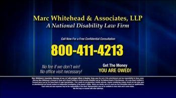 Marc Whitehead & Associates, LLP TV Spot, 'Thousands Denied Every Month' - Thumbnail 9