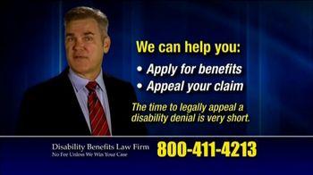 Marc Whitehead & Associates, LLP TV Spot, 'Thousands Denied Every Month' - Thumbnail 8