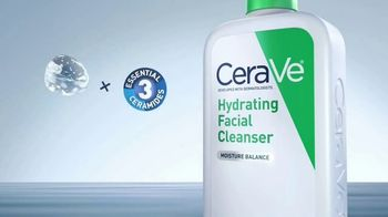 CeraVe Hydrating Facial Cleanser TV Spot, 'Tu piel' [Spanish] - Thumbnail 5