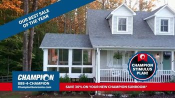 Stimulus Plan: 30 Percent Off Sunrooms thumbnail