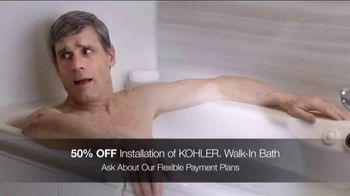 Kohler TV Spot, 'Walk-In Bath: 50% Off Installation and Virtual Appointments' - Thumbnail 6