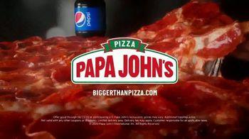 Papa John's Shaq-A-Roni Pizza TV Spot, 'Extra' - Thumbnail 10