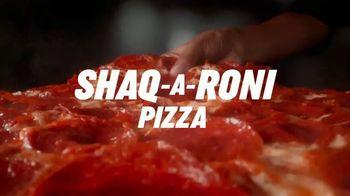 Papa John's Shaq-A-Roni Pizza TV Spot, 'Extra'