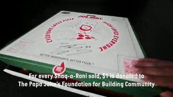 Papa John's Shaq-A-Roni Pizza TV Spot, 'Extra' - Thumbnail 8