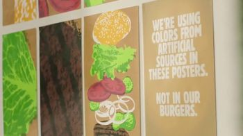 Burger King TV Spot, 'Artificial Colors: Posters'