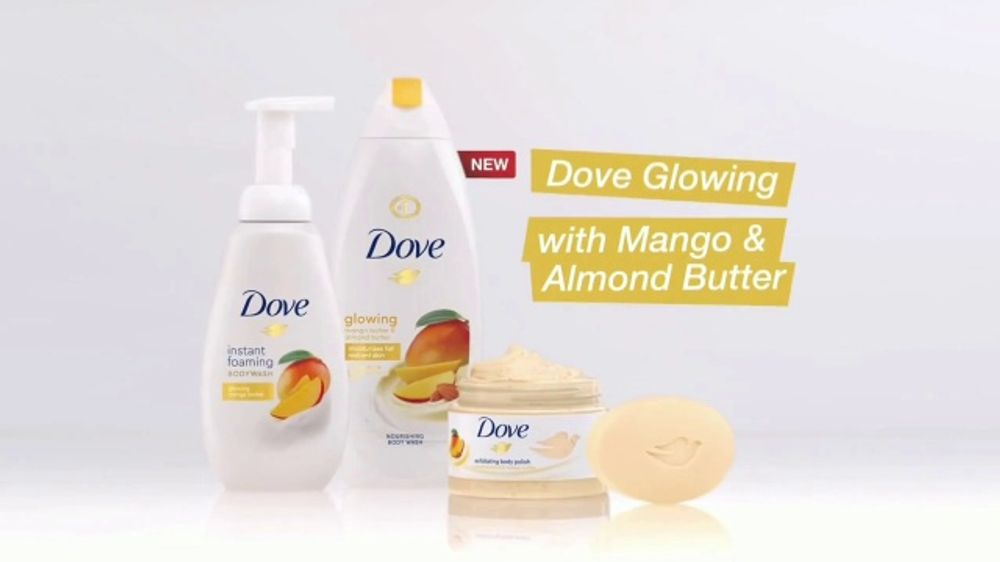 Dove Glowing Shower Collection Tv Commercial Ready Set Glow Ispot Tv
