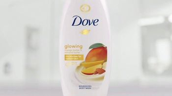 Dove Glowing Shower Collection TV Spot, 'Ready, Set, Glow' - Thumbnail 5