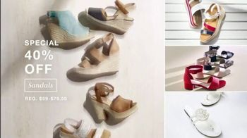 Macy's July 4th Sale TV Spot, 'Summer Essentials, Sandals and Towels' - Thumbnail 4