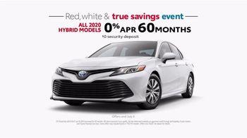 Toyota Red, White & True Savings Event TV Spot, 'Spangling' [T2] - Thumbnail 7