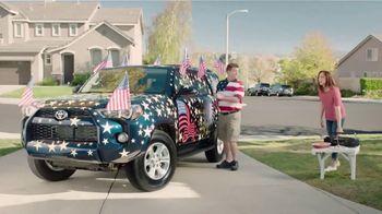 Toyota Red, White & True Savings Event TV Spot, 'Spangling' [T2] - Thumbnail 1