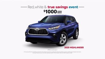 Toyota Red, White & True Savings Event TV Spot, 'Spangling' [T2] - Thumbnail 5