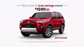 Toyota Red, White & True Savings Event TV Spot, 'Spangling' [T2] - Thumbnail 6