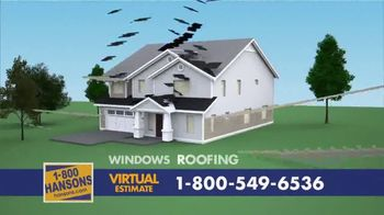 1-800-HANSONS TV Spot, 'Your Home: 50 Percent Off and Virtual Estimate' - Thumbnail 10