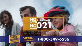 1-800-HANSONS TV Spot, 'Your Home: 50 Percent Off and Virtual Estimate' - Thumbnail 8