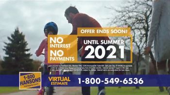 1-800-HANSONS TV Spot, 'Your Home: 50% Off and Virtual Estimate' - Thumbnail 9