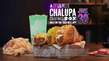 Taco Bell App TV Spot, 'Free Chalupa Cravings Box'