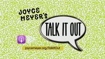 Joyce Meyer Ministries Talk It Out Podcast TV Spot, 'Encourage and Strengthen Each Other' - Thumbnail 8