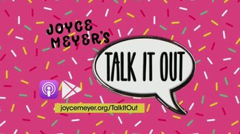 Joyce Meyer Ministries Talk It Out Podcast TV Spot, 'Encourage and Strengthen Each Other' - Thumbnail 7