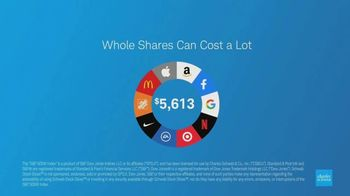 Charles Schwab Stock Slices TV Spot, 'S&P 500' - Thumbnail 7