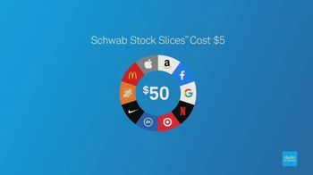 Charles Schwab Stock Slices TV Spot, 'S&P 500'