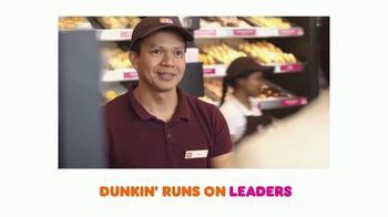 Dunkin' TV Spot, 'Come Run With Us: Leaders'