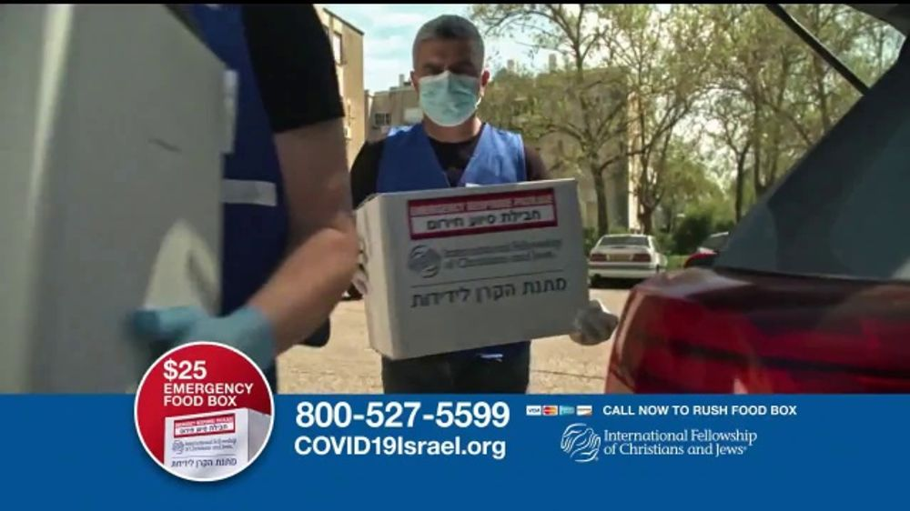 International Fellowship Of Christians and Jews TV Commercial, 'COVID-19: Emergency Food Box'