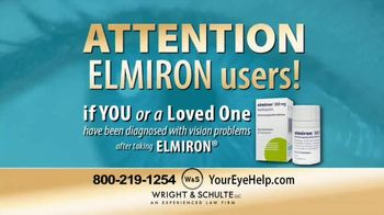 Wright & Schulte, LLC TV Spot, 'Elmiron'