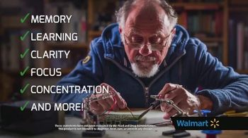Force Factor ForeBrain TV Spot, 'Worried: Walmart' - Thumbnail 6