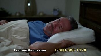 Contour Hemp Pillow TV Spot, 'Neck and Back' - Thumbnail 8