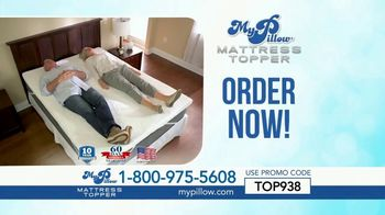 My Pillow Mattress Topper TV Spot, '30 Percent Off and Two Standard MyPillows Free'