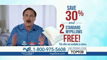 My Pillow Mattress Topper TV Spot, '30 Percent Off and Two Standard MyPillows Free' - Thumbnail 10