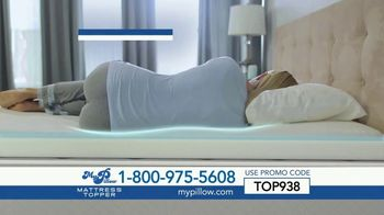 My Pillow Mattress Topper TV Spot, '30 Percent Off and Two Standard MyPillows Free'