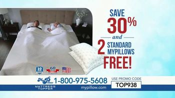 My Pillow Mattress Topper TV Spot, '30 Percent Off and Two Standard MyPillows Free' - Thumbnail 8