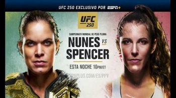 ESPN+ TV Spot, 'UFC 250: Nunes vs. Spencer' canción de Rakefire [Spanish] - 110 commercial airings