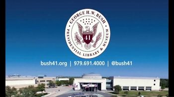 George H.W. Bush Presidential Library and Museum TV Spot, 'Premier Destination' - Thumbnail 8