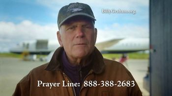 Billy Graham Evangelistic Association TV Spot, 'Trouble' - Thumbnail 9