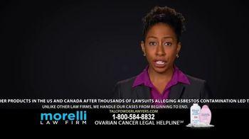 Morelli Law Firm TV Spot, 'Ovarian Cancer'