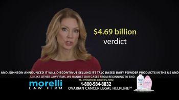 Morelli Law Firm TV Spot, 'Ovarian Cancer' - Thumbnail 4