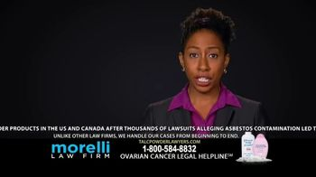 Morelli Law Firm TV Spot, 'Ovarian Cancer'